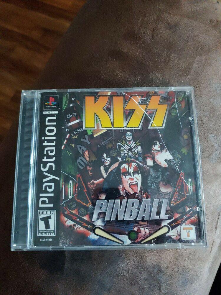 Kiss Pinball (Sony PlayStation 1, 2001) ps4 gaming
