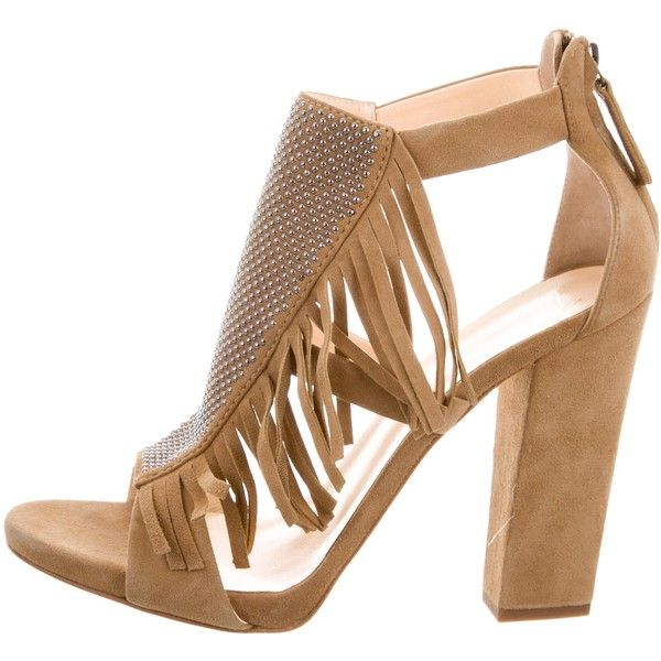 Pre-owned - Velvet sandals Giuseppe Zanotti XNsiSqKt7P
