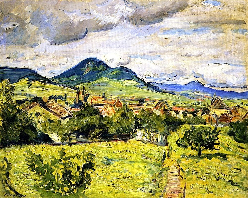 Spring in the Palatinate Max Slevogt - 1910