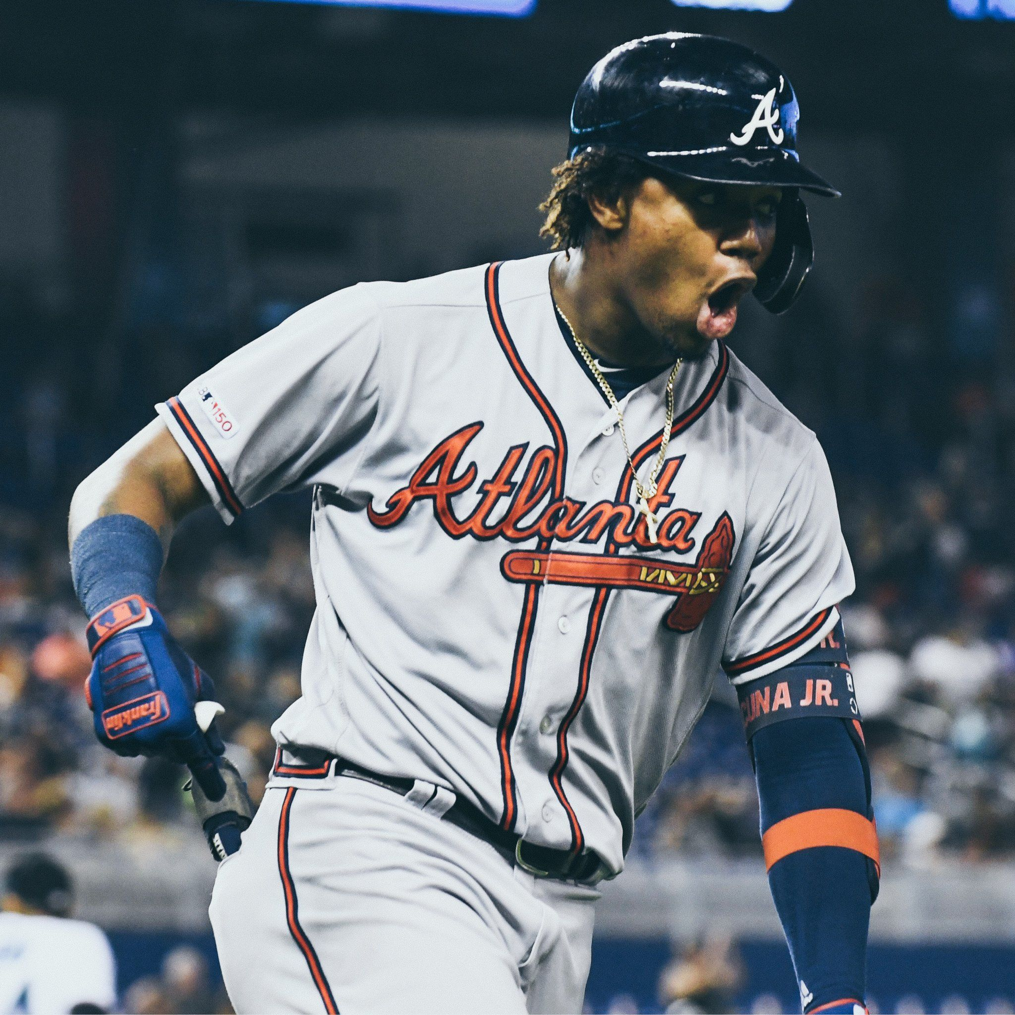 Mlb On Twitter Braves Baseball Atlanta Braves Baseball Atlanta Braves