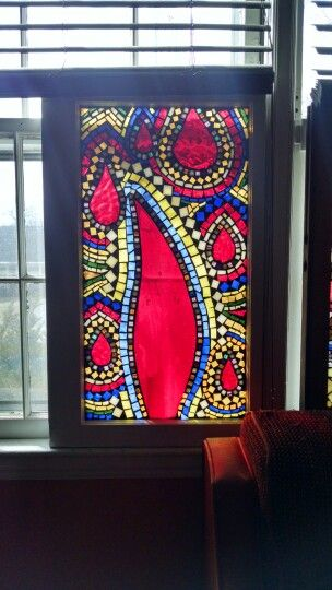 paisley stained glass mosaic window more at www groovysquid76 wix