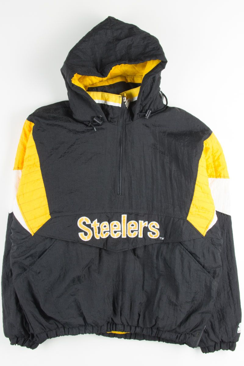 best service 7885f ecb74 Pittsburgh Steelers Puff Jacket | Vintage Jackets | Jackets ...