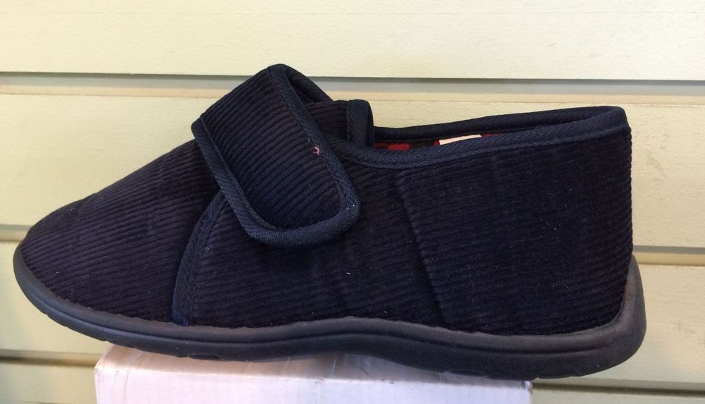 Slippers Boys Navy / Ragg Slippers with