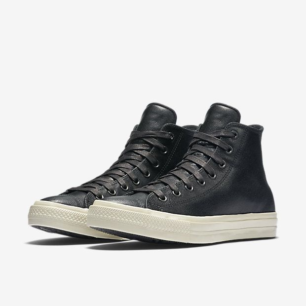 b47d15825cf6b8 Converse x John Varvatos Chuck Taylor All Star II Coated Leather High Top  Unisex Shoe