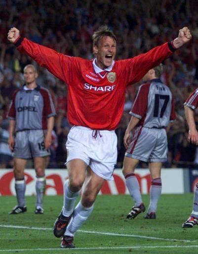 Sheringham Manchester United Legends Manchester United Players Teddy Sheringham
