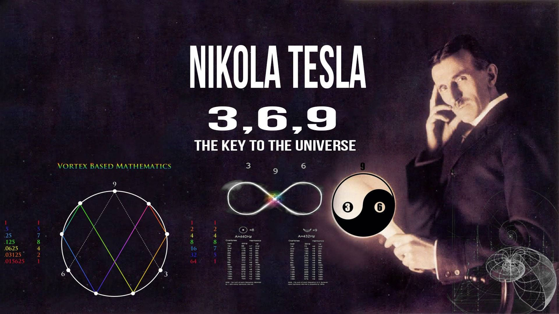 Nikola Tesla Once Said U2026if You Only Knew The Magnificence Of The 3  6 And 9  Then You Would Have