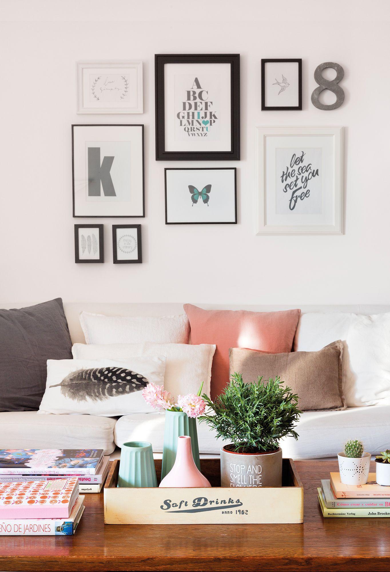 Atrévete Con Un Collage Decoración De Apartamentos Decoración De Unas Decoracion De Salas