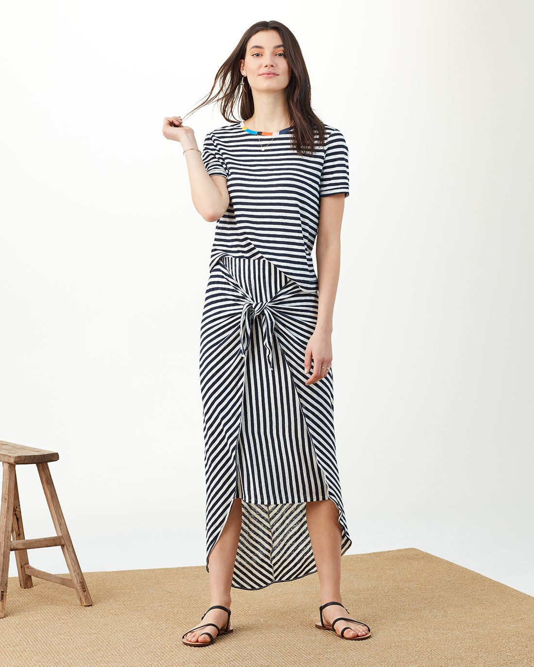 81097d910cef Splendid X Margherita Isola Striped Sarong Skirt- SPLENDID   Wear ...