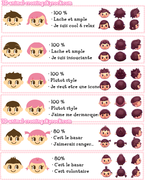 42++ Coiffure fille animal crossing idees en 2021