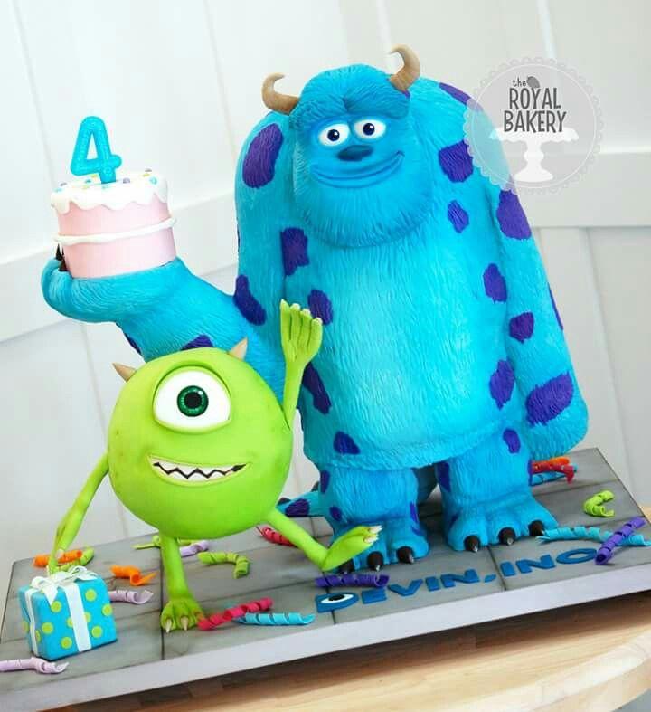 Amazing monster's Inc.birthday cake