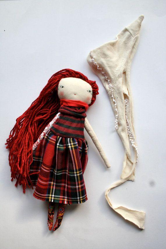 beautiful christmas little lu elf girl  13ish handmade
