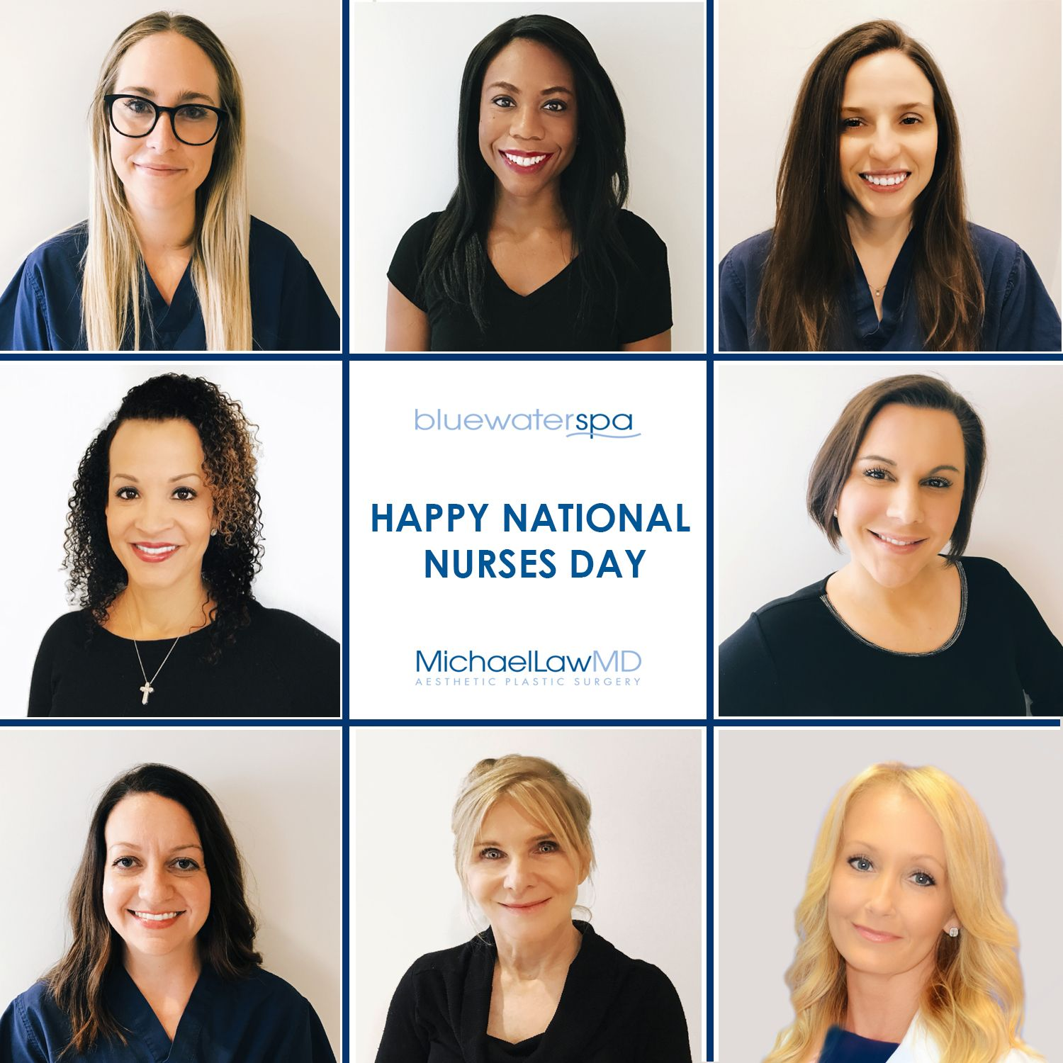 Happy National Nurses Day Laser hair removal, Botox
