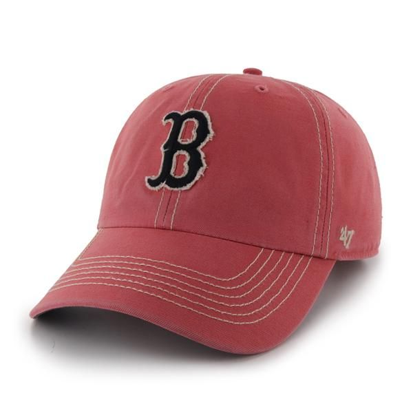 cheaper ad97b ae496 Boston Red Sox 47 Brand Island Red Skiff Clean Up Adjustable Hat