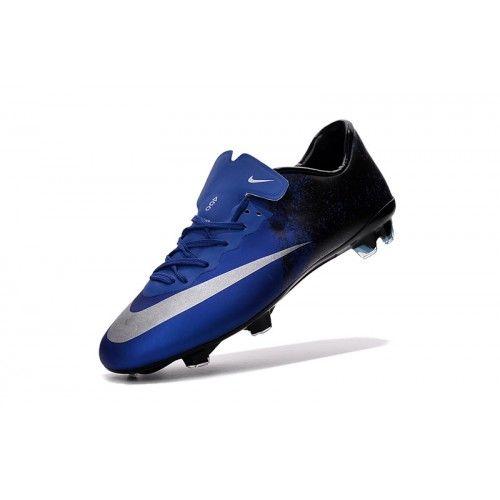 baratas nike mercurial superfly cr7 fg azul hombre zapatos de soccer