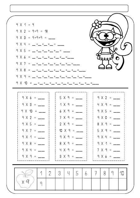Multiplicação | Atividades Pedagogica Suzano | Classroom ideas ...