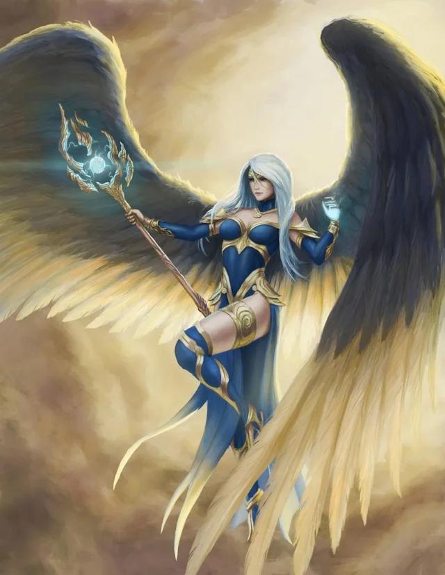 Photo of [OC] Winged Spellcaster
