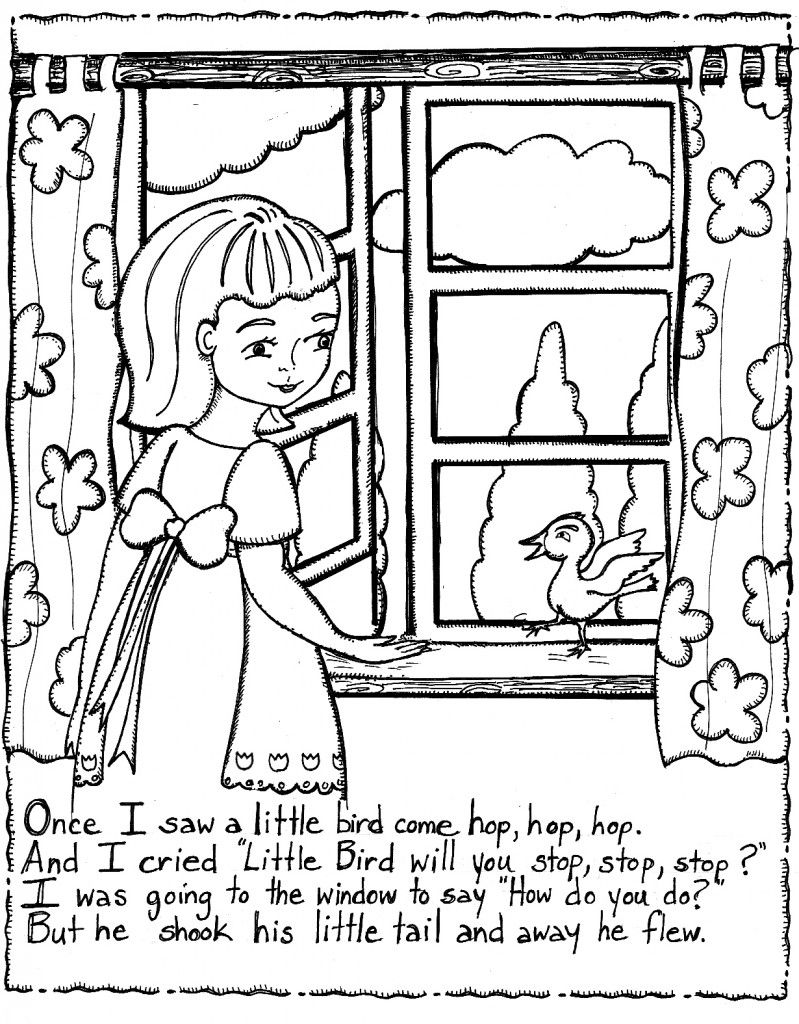 Free Printable Nursery Rhymes Coloring Pages For Kids Free Nursery Rhymes Nursery Rhymes Coloring Pages [ 1024 x 799 Pixel ]
