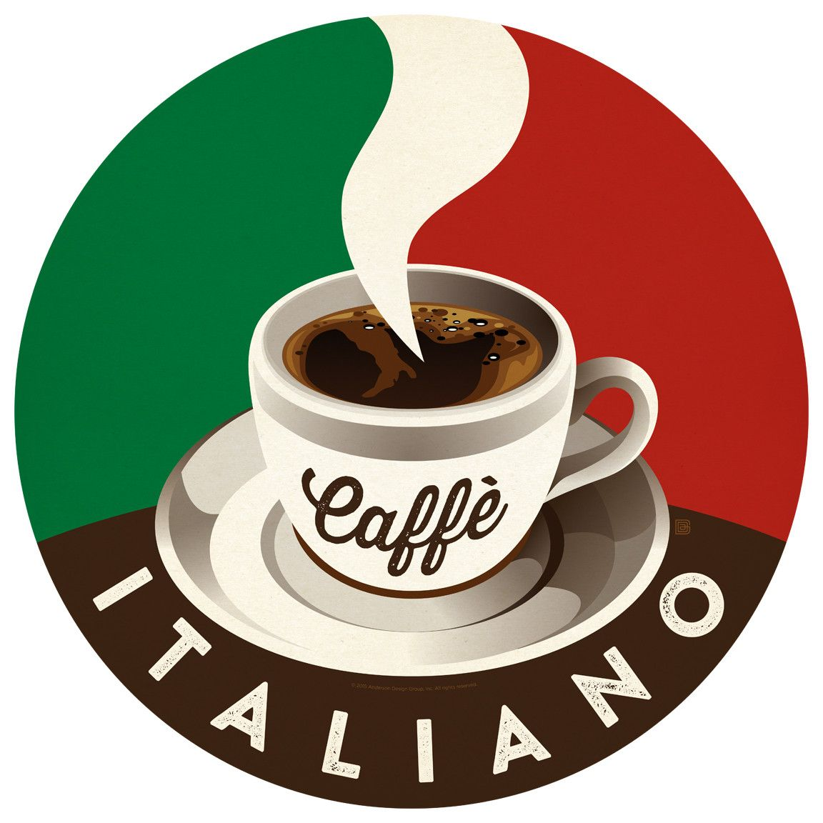 Caffe Italiano Anderson Design Group Wall Decal