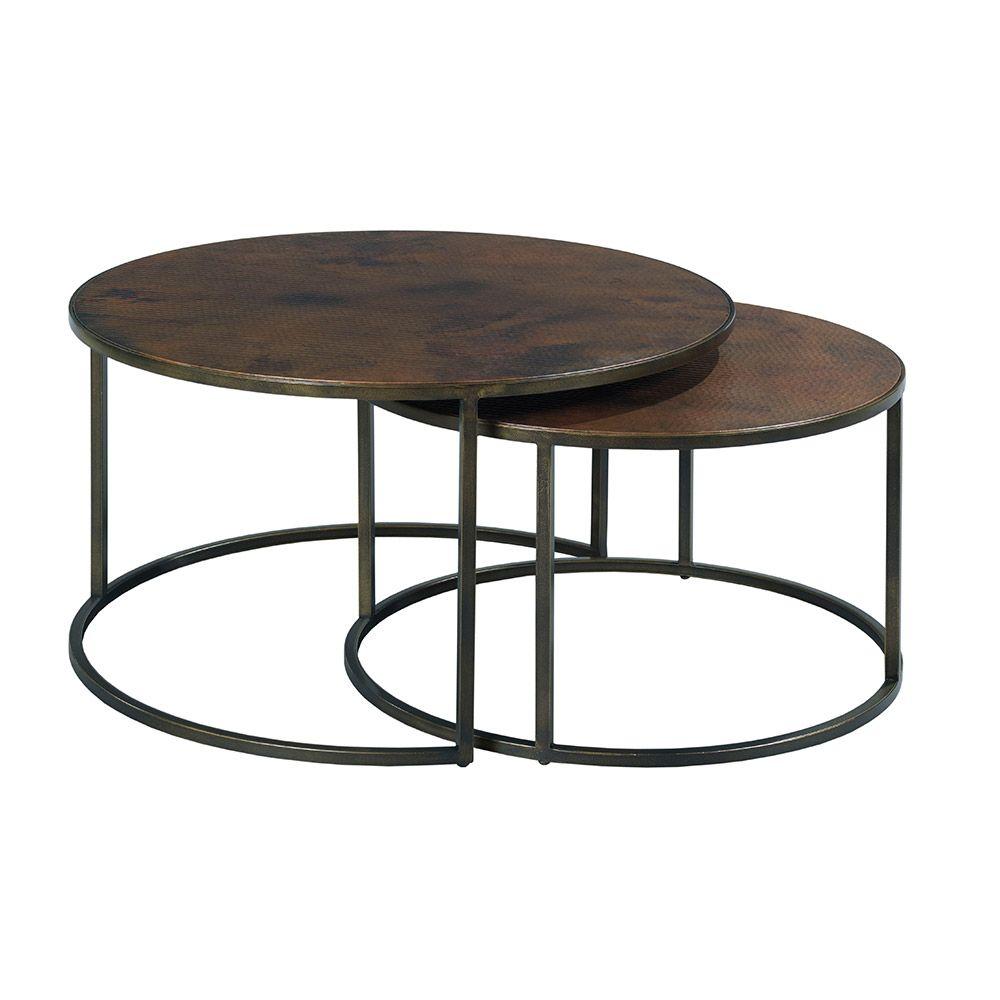 Sanford Round Cocktail Table Nesting Coffee Tables Coffee Table Setting Round Nesting Coffee Tables [ 1000 x 1000 Pixel ]