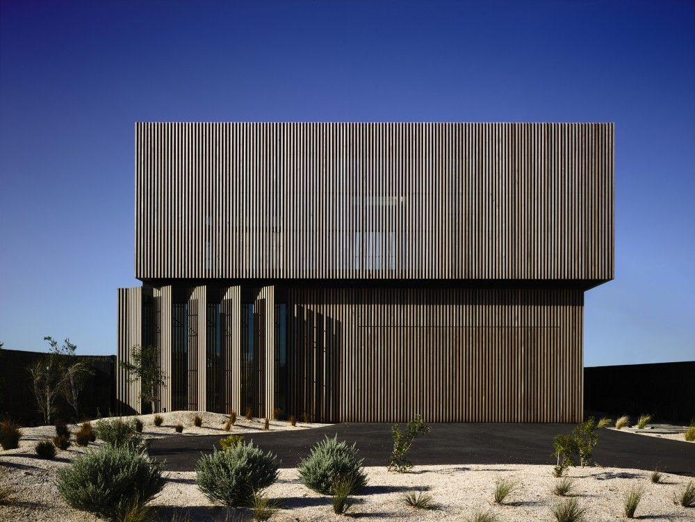 Torquay House / Wolveridge Architects Architects, House and - Plan De Maison Cubique
