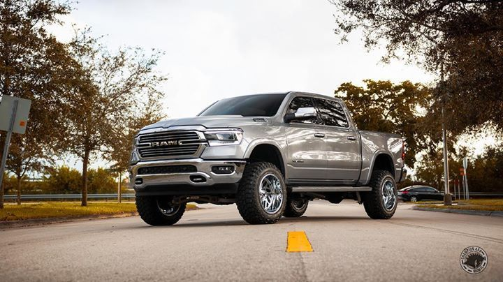 Pro Comp Lift Kit >> Beautiful 2019 RAM sitting on Fuel wheels wrapped in Fury tires with a 6 Pro Comp lift kit ...