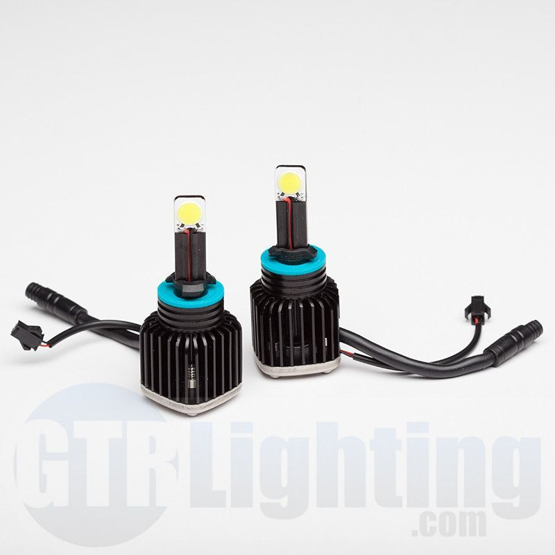 LED Headlight 800/880 Conversion Kit: 2,200 Lumen Bulbs