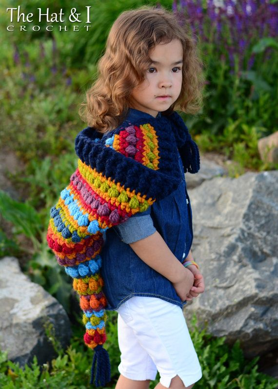 Crochet Pattern Bohemian Nights Hoodie Crochet Hood Pattern