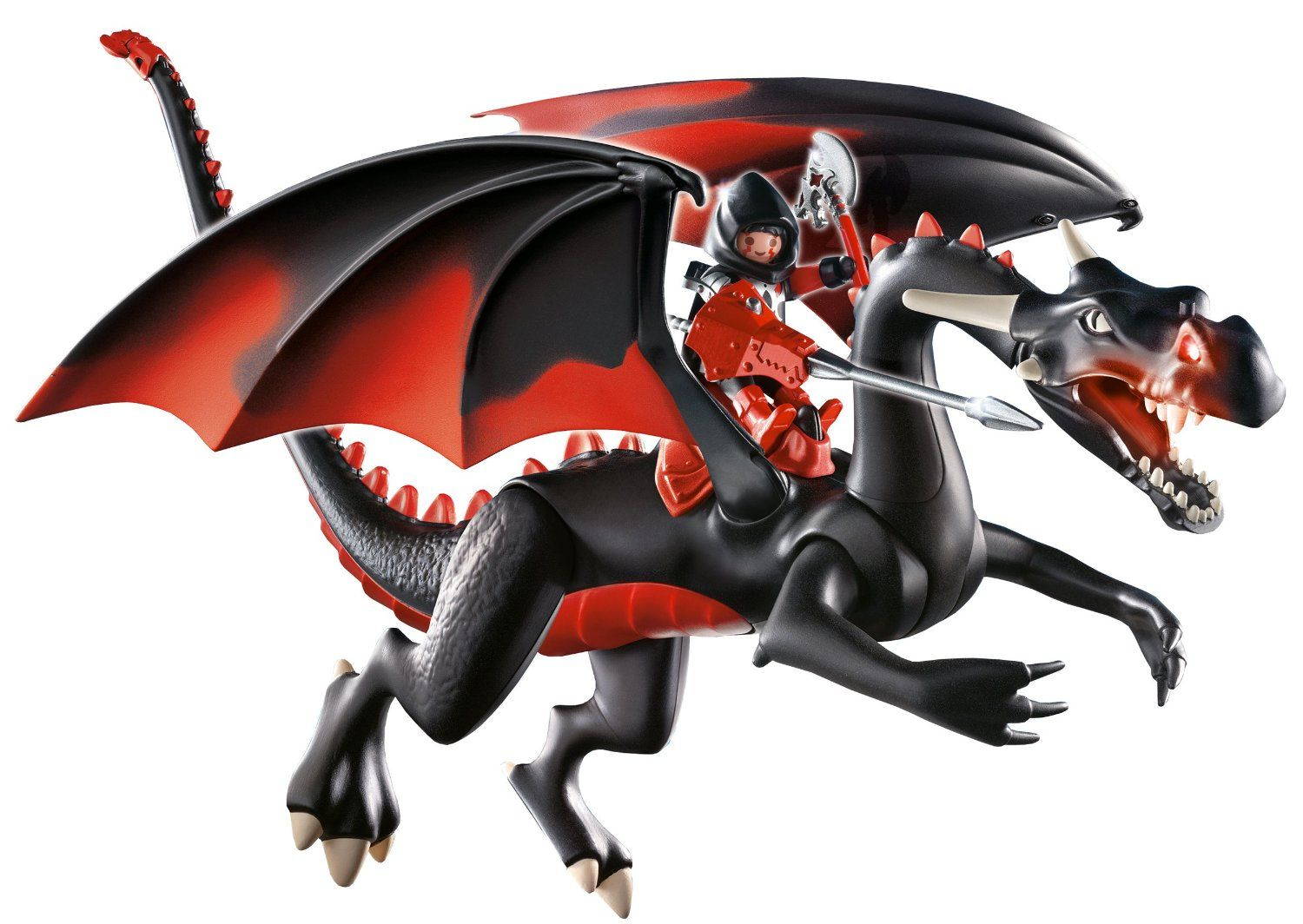 amazonsmile playmobil giant dragon with led fire toys. Black Bedroom Furniture Sets. Home Design Ideas