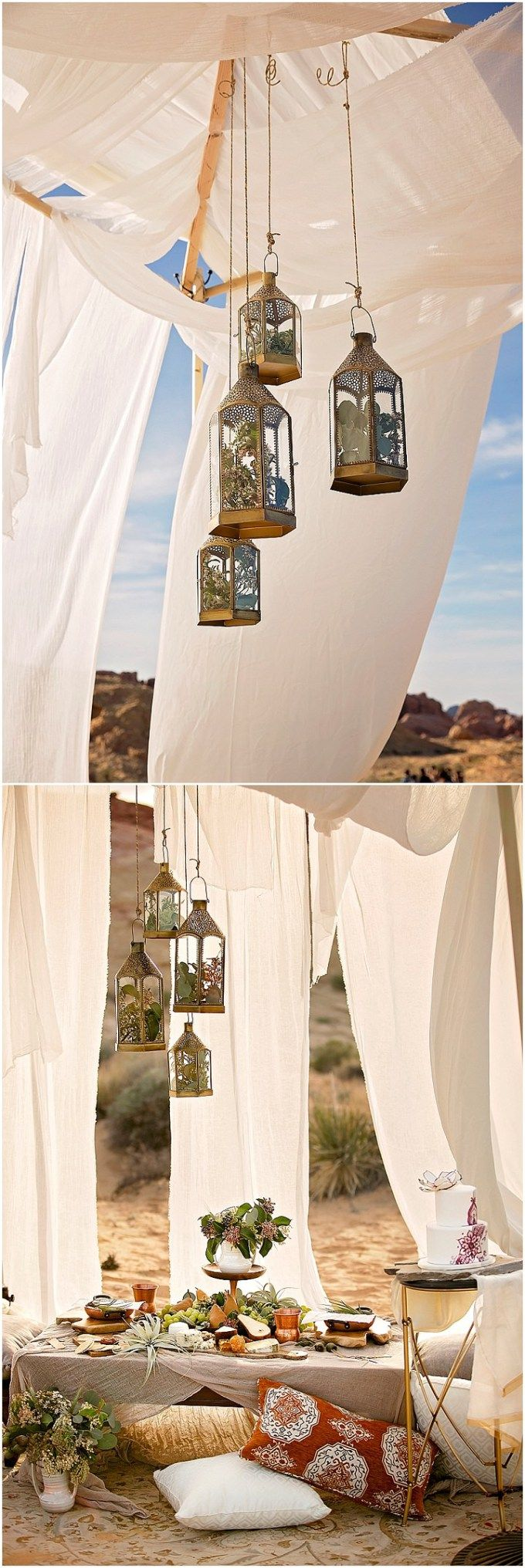 Moroccan Wedding Inspiration in the Valley of Fire | Pinterest ...