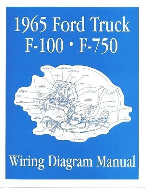 06e1286c78e6046b745f6c8978e80137 ford 1965 f100 f750 truck wiring diagram manual 65 ford 1965 ford f100 dash wiring diagram at gsmx.co
