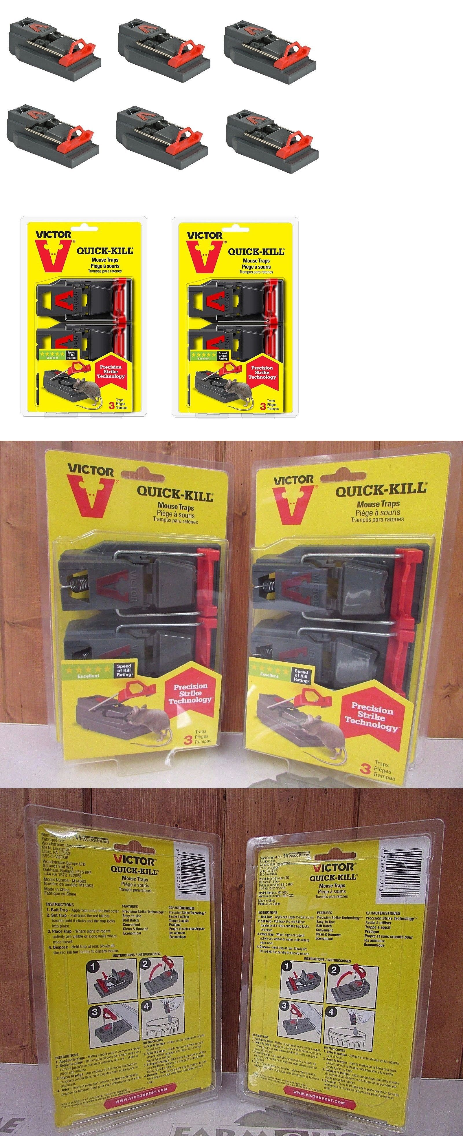 how to set a yellow victor mouse trap