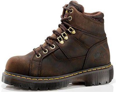 Doc Martens Dr. Martens Ironbridge Steel Toe 8 Tie Gaucho Volcano Men Shoes  R12721201