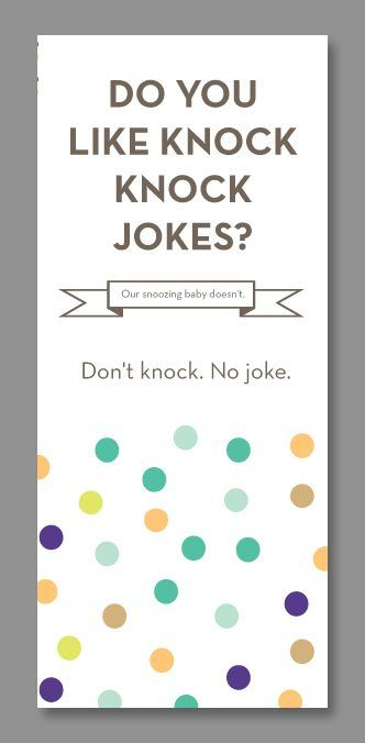 Funny Do Not Disturb Baby Door Hangers Baby door hangers, Baby - door hanger template