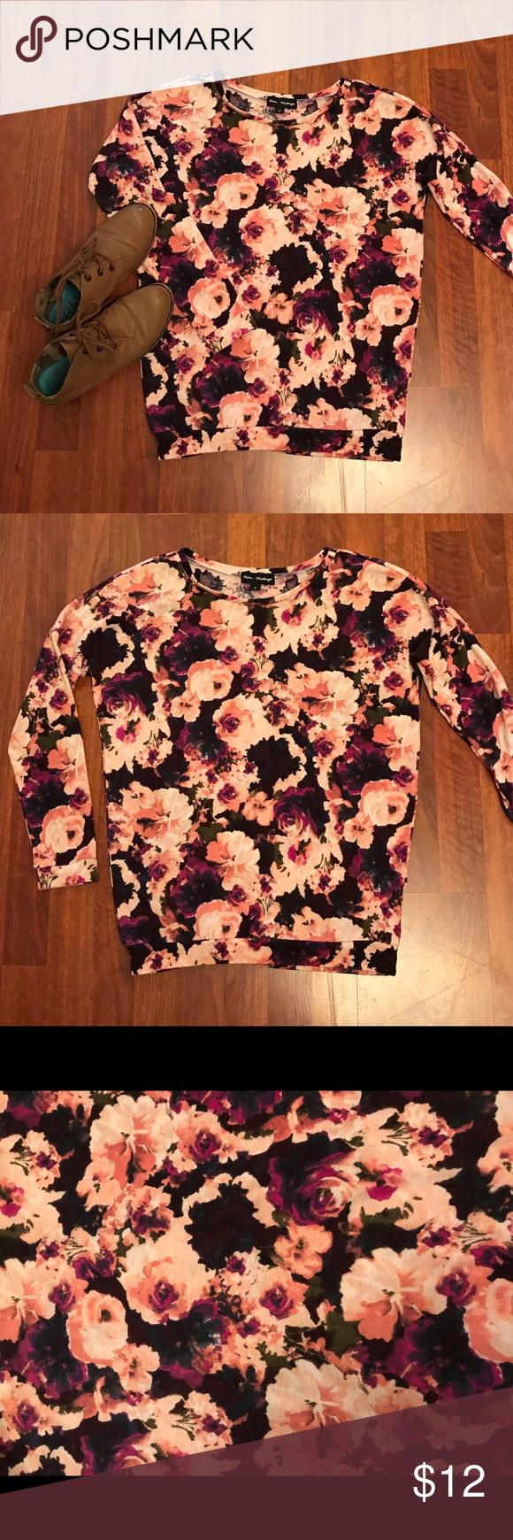 MASON & MCKENZIE sweater! Floral Mason & McKenzie sweater! Really ...