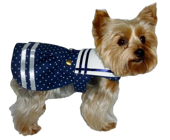 Captivating and cute Ships Ahoy sailor dog dress SEWING PATTERN for ...