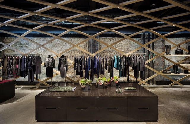 Interior Design Gallery Retail Interior Design Hugo Boss Concept