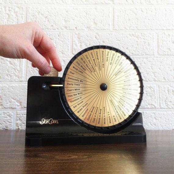 Vintage Decision Maker Coin Bank Vintage Gag Gift Desk Etsy Desk Etsy Office Accessories Gag Gifts