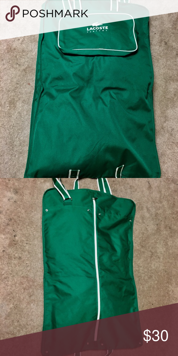 Lacoste Garment Bag Like New Condition Use Folded For A Short Weekend Or Fold
