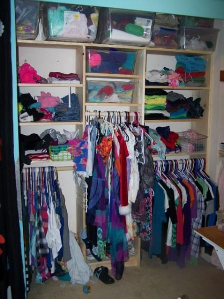Closet Organizer for two! | Do It Yourself Home Projects from Ana White