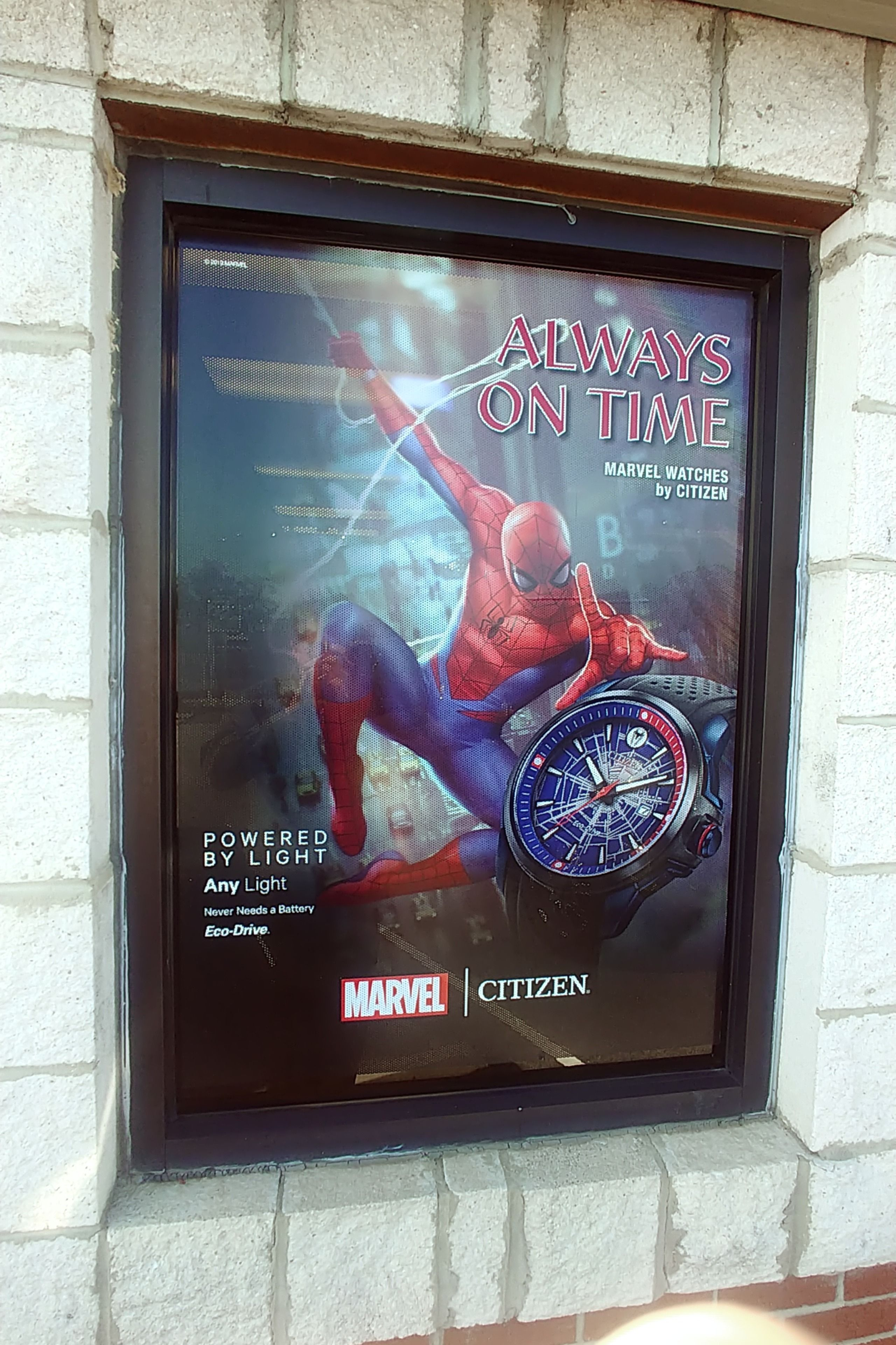 Confirmed sighting of Spiderman at Avis Fine Jewewlry in