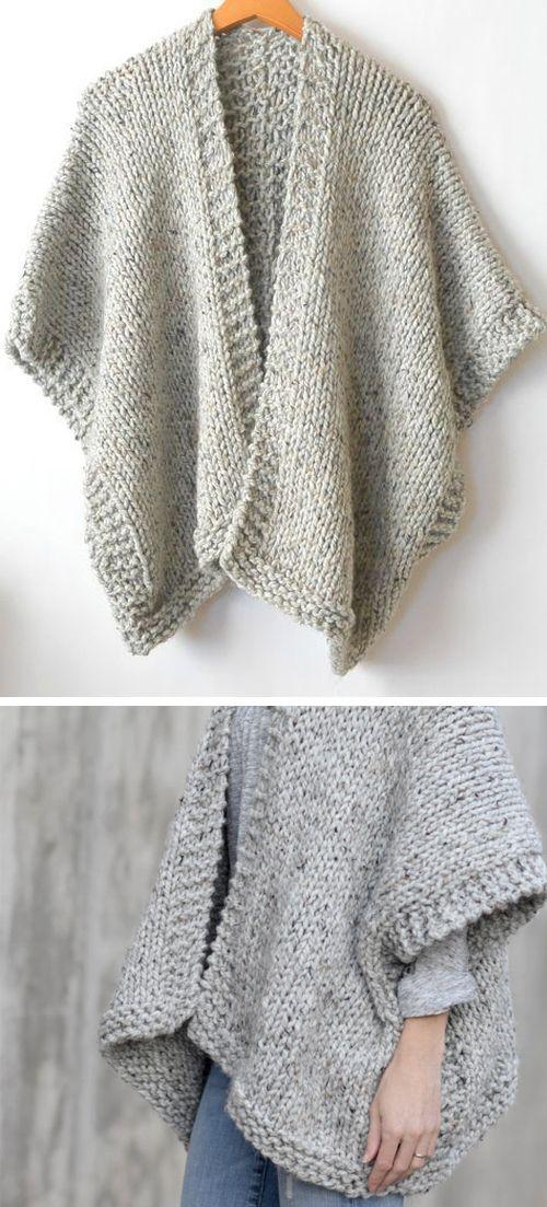 Photo of Telluride Easy Knit Kimono – Free Pattern