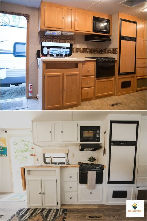 Renovating Fixing Decorating Painting Ideas: Trailer Renovation. Before And After. (With Images