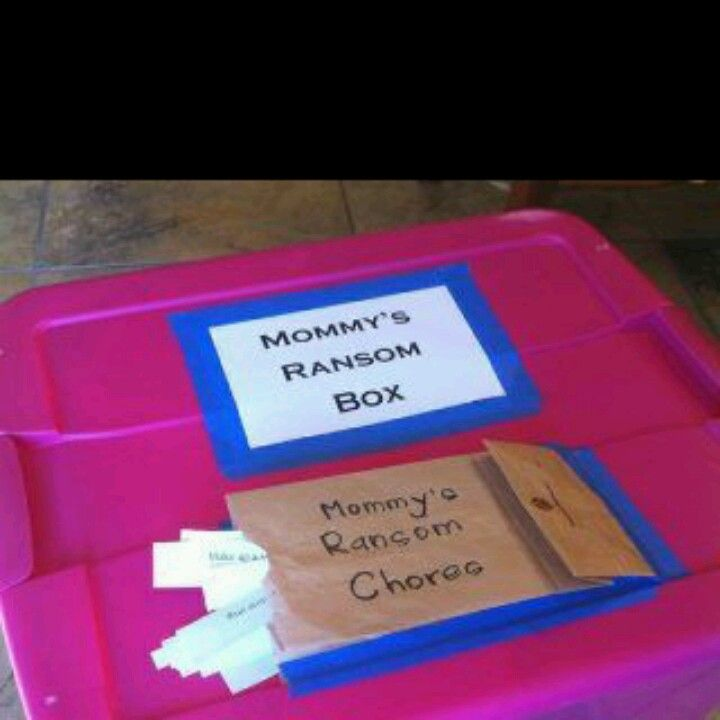 .I came across this fantastic idea! Threats of throwing ...