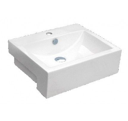 20 1 2 Inch Rectangular Porcelain Ceramic Single Hole Countertop Bathroom Vessel Sink Rectangular Vessel Sink Vessel Sink Sink