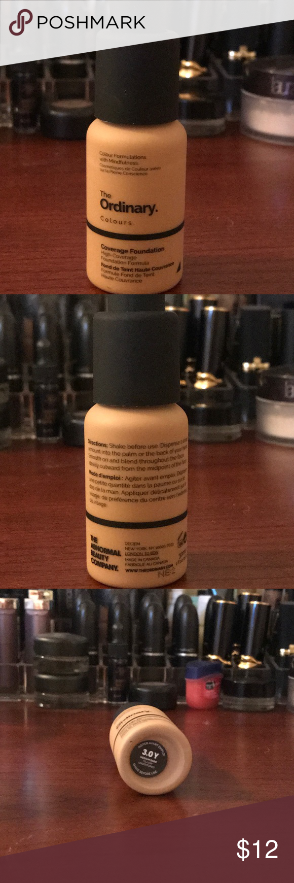 The Ordinary Coverage Foundation in 3.0R and 3.0Y High