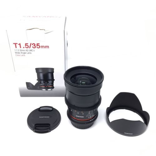 samyang 35mm t 1 5 cine manual focus wide angle lens for canon ef rh pinterest com Canon Lens 18 200 Lens Cap Canon