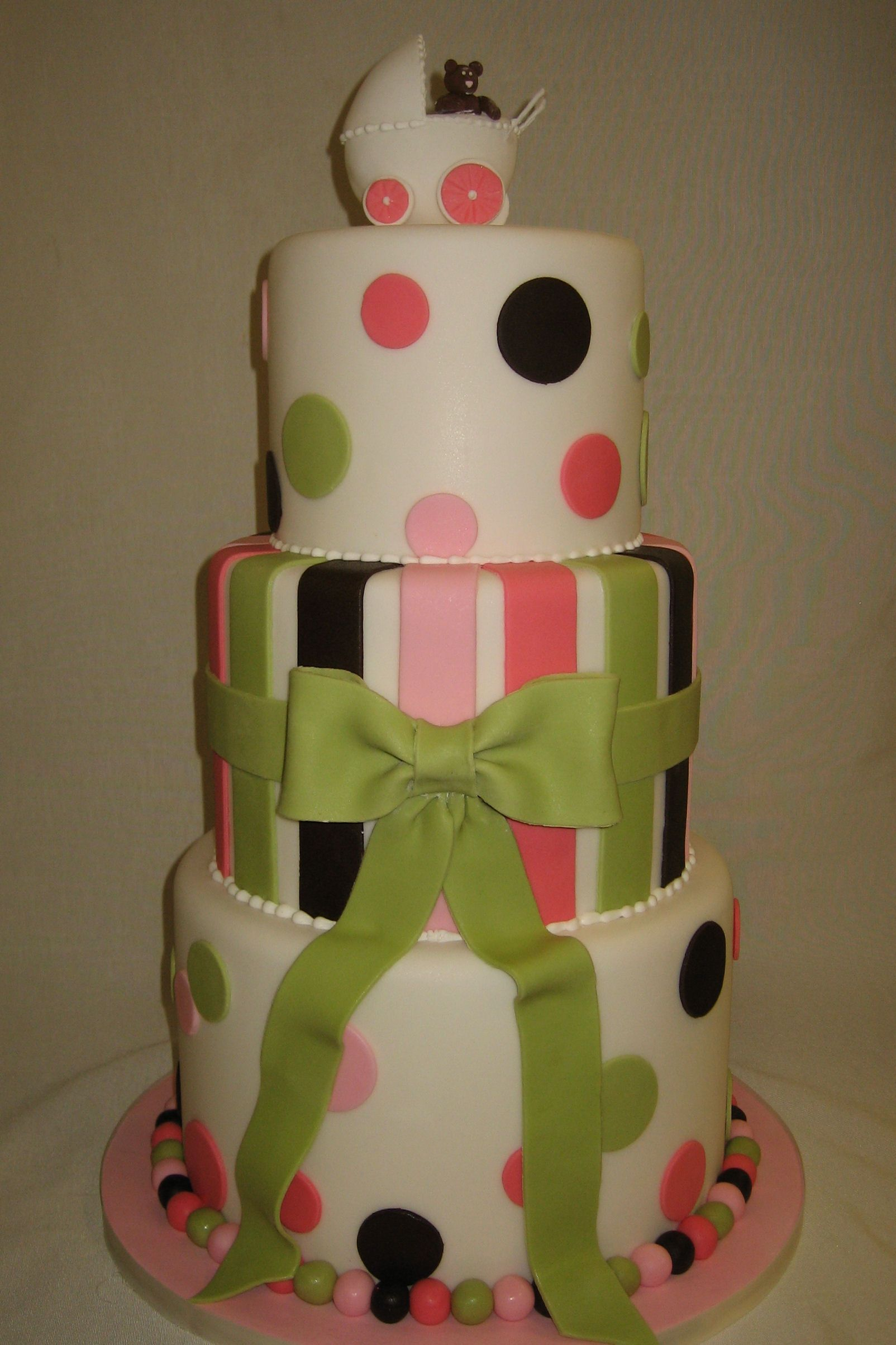 Amy Beck Cake Design  Chicago, Il  Pink And