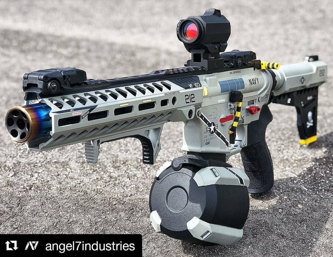 This 300 Blk Build Is So Badass I Love Themed Cerakote Jobs What