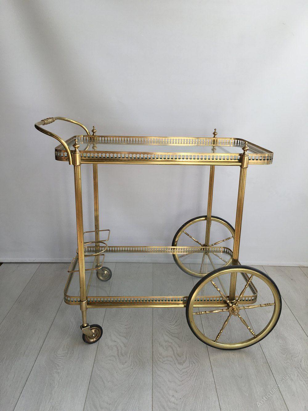 Other Italian Mid Century Drinks Trolley Fine Craftsmanship