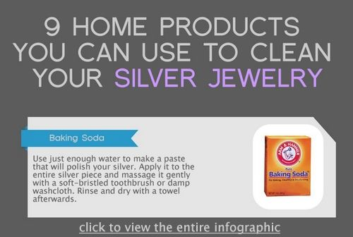 9 Home Products You Can Use to Clean Your Silver Jewelry